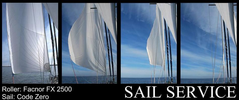 Gennaker und Furlingsystem von Sail Service Germany